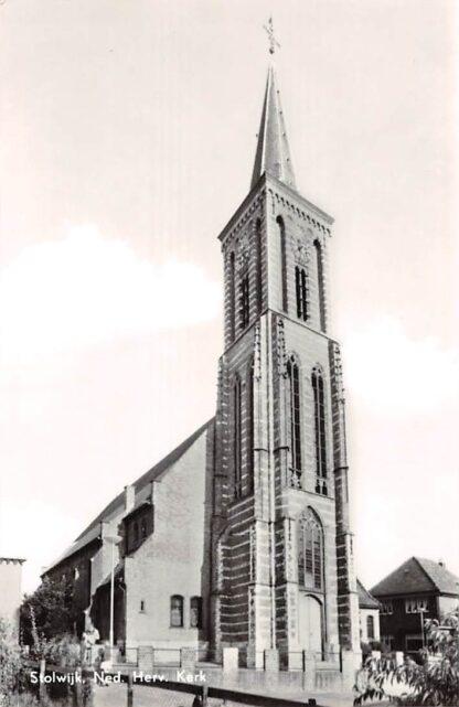 Ansichtkaart Stolwijk Ned. Hervormde Kerk 1966 HC21911