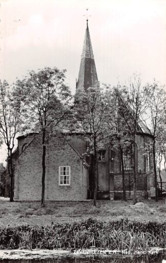 Ansichtkaart Zevenhuizen(ZH) Ned. Hervormde Kerk 1966 HC21913