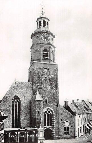 Ansichtkaart Buren (GD) Ned. Herv. Kerk 1969 Betuwe HC21917