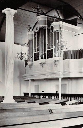 Ansichtkaart Zwijndrecht Ned. Hervormde Oude Kerk 1966 Orgel HC21919