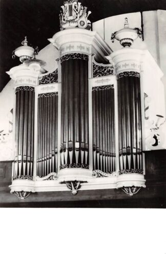 Ansichtkaart Hazerswoude Ned. Hervormde Kerk Orgel HC21921