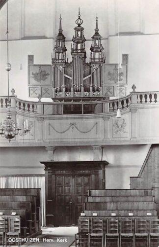 Ansichtkaart Oosthuizen Hervormde Kerk Orgel Dispositie 1973 HC21927