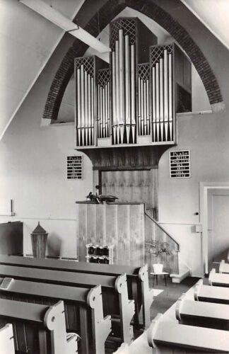 Ansichtkaart Opperdoes Chr. Gereformeerde Kerk Orgel 1970 HC21934