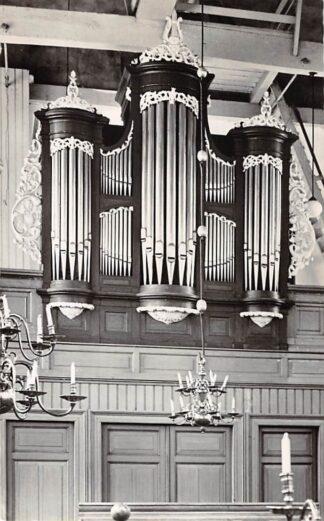 Ansichtkaart West-Graftdijk Ned. Hervormde Kerk Orgel HC21937