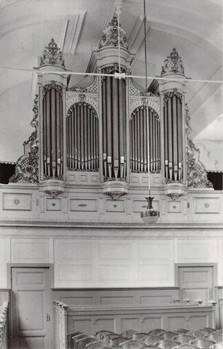 Ansichtkaart Westwoud Ned. Hervormde Kerk Orgel 1962 HC21938
