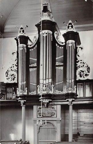 Ansichtkaart Scheemda Ned. Hervormde Kerk Orgel 1965 HC21939