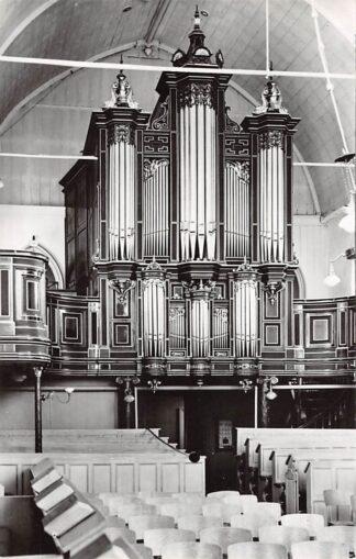 Ansichtkaart Wognum Ned. Hervormde Kerk Orgel 1962 HC21941