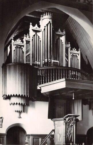Ansichtkaart Blaricum Ned. Hervormde Kerk Orgel 1961 HC21943