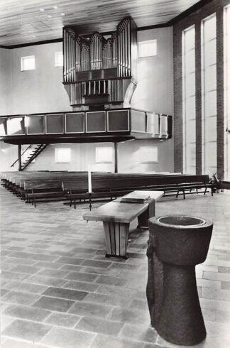 Ansichtkaart Hoorn Gereformeerde Kerk Pollstraat Orgel 1969 HC21944