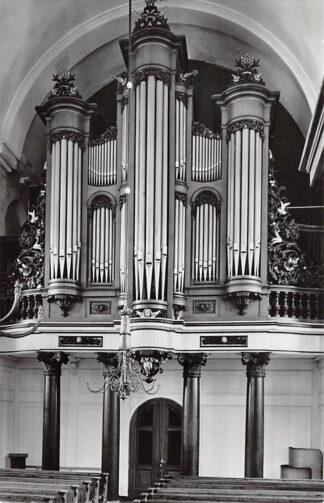 Ansichtkaart Oudkarspel Ned. Hervormde Kerk Orgel 1962 Langedijk HC21953