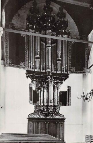 Ansichtkaart Enkhuizen Ned. Hervormde Wester kerk 1964 Orgel HC21954