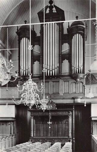 Ansichtkaart Aartswoud Ned. Hervormde Kerk Orgel 1962 Opmeer HC21955