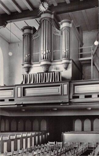 Ansichtkaart Ommen Ned. Hervormde Kerk Orgel 1961 HC21959