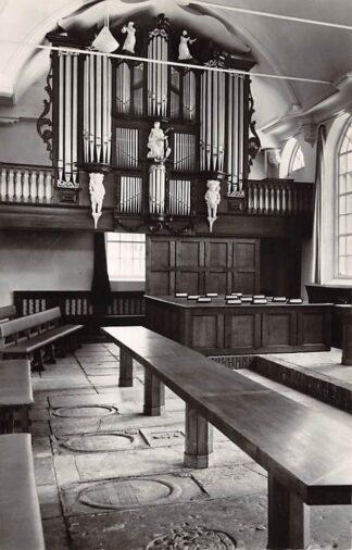 Ansichtkaart Zwartsluis Ned. Hervormde Kerk Orgel 1960 HC21961