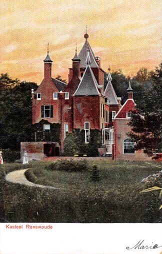 Ansichtkaart Kasteel Renswoude voor 1906 HC21967