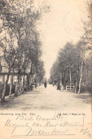 Ansichtkaart Ede Straatweg bij Tol 1902 Veluwe HC21979