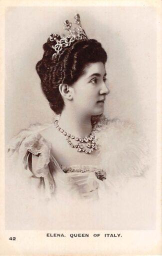 Ansichtkaart Italië Elena, Queen of Italy Italia Europa Koningshuis HC21998