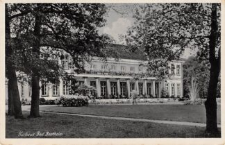 Ansichtkaart Duitsland Bad Bentheim Kurhaus met censuurstempel Deutschland Europa HC22002