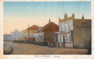 Ansichtkaart Hoek van Holland Strandweg Café Uitspanning De Kroon 1922HC22006