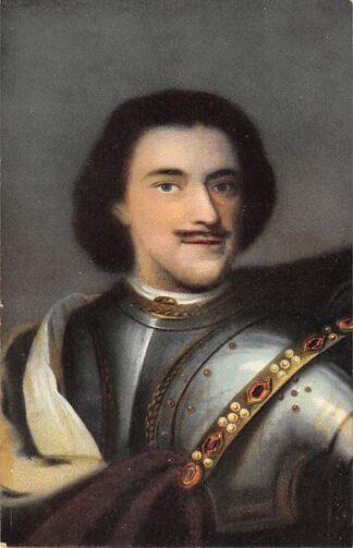 Ansichtkaart Rusland Portret van Czaar Peter de Groote Russia Zaandam Europa Koningshuis HC22032