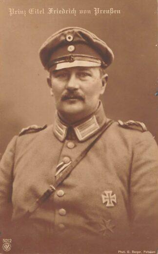 Ansichtkaart Duitsland WO1 1914-1918 Prinz Citel Friesrich von Preussen Militair Deutschland Koningshuis Europa HC22034