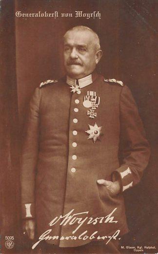 Ansichtkaart Duitsland WO1 1914-1918 Generaloberst von Woyrsch Militair Deutschland Europa HC22041