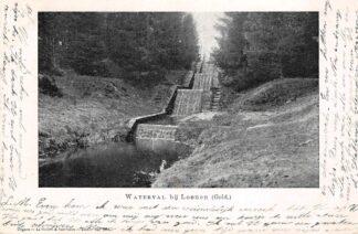 Ansichtkaart Loenen (GD) Waterval bij Loenen (Geld.) 1901 HC22048