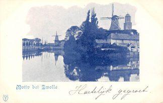 Ansichtkaart Zwolle Motiv bei Zwolle Molens 1900 HC22050