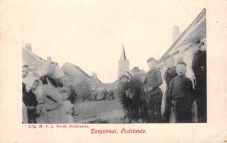Ansichtkaart Oudelande Dorpstraat Borsele Zuid-Beveland HC22071
