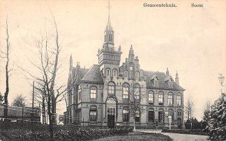 Ansichtkaart Soest Gemeentehuis 1916 HC22090