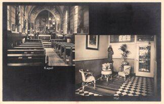Ansichtkaart Amsterdam Keizersgracht 65 Pension de Deo 1931 Kapel en Hal HC22095