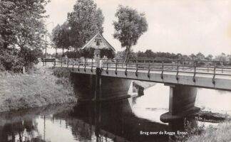 Ansichtkaart Enter Brug over de Regge Fotokaart Wierden Almelo Twente HC22099