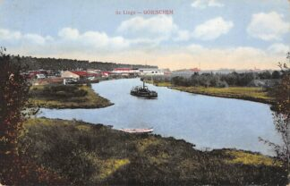 Ansichtkaart Gorinchem De Linge Stoomschip 1910 HC22104