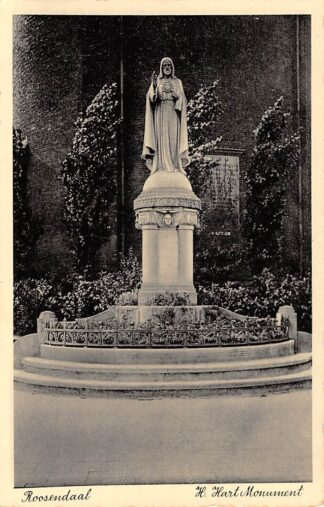 Ansichtkaart Roosendaal H. Hart Monument HC22141