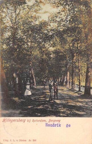 Ansichtkaart Rotterdam Hillegersberg Bergweg 1904 HC22142
