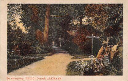 Ansichtkaart Heiloo Omtrek Alkmaar De driesprong 1919 HC22151