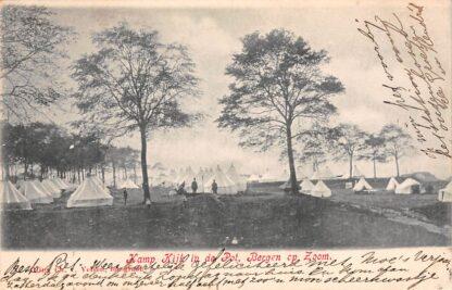 Ansichtkaart Bergen op Zoom Kamp Kijk in de Pot 1904 Militair HC22155