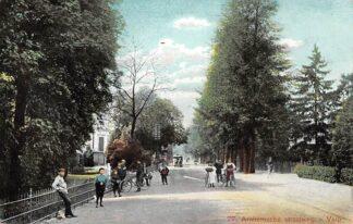 Ansichtkaart Velp Arnhemsche Straatweg met Paardentram Tram 1907 Rheden HC22156