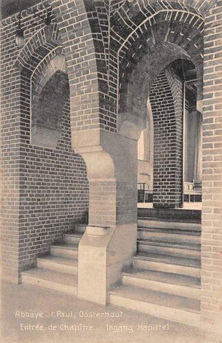Ansichtkaart Oosterhout (NB) Klooster Abbaye St. Paul Ingang Kapittel HC22182