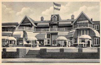 Ansichtkaart Zandvoort Hotel Pension Marina Eig. P.D. de Jong HC22185