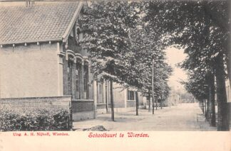 Ansichtkaart Wierden Schoolbuurt Twente Almelo HC22189