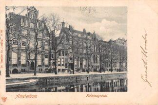 Ansichtkaart Amsterdam Keizersgracht 1902 HC22196