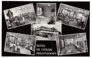 Ansichtkaart Hellendoorn Hotel De Uitkijk 1965 HC22203