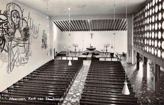 Ansichtkaart Meerssen Kerk van St. Joseph Arbeider 1961 Limburg HC22209