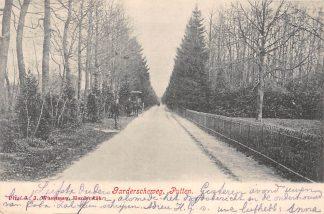 Ansichtkaart Putten Garderscheweg met paard en wagen 1904 Veluwe HC22222