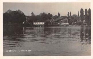 Ansichtkaart Zwitserland Uttwil Thurgau Partie am See 1926 Suisse Schweize Switzerland Europa HC22320