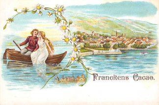 Ansichtkaart Koog aan de Zaan Reclame Franckens cacao Francken Cacao en Chocolade Fabriek HC22394