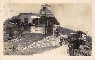 Ansichtkaart Zwitserland Monte Generoso 1925 Stoomtram Station Spoorwegen Schweiz Suisse Switzerland Europa HC22400