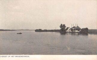 Ansichtkaart De Kaag en Braassem Overzet op het Braassemermeer veer pont HC22442