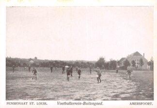 Ansichtkaart Amersfoort Utrechtseweg Pensionaat St. louis Voetbalterrein - Buitengoed Soccer Voetbal Sport HC22479